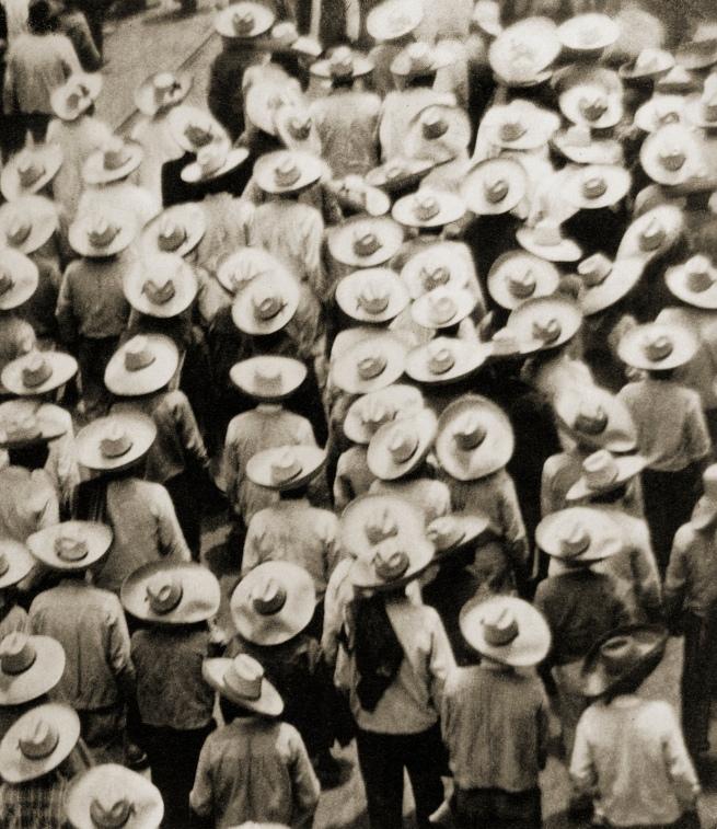 Tina Modotti. 'Campesinos (Workers' Parade)' 1926