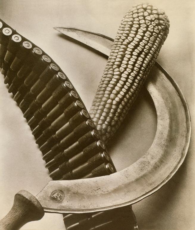 Tina Modotti. 'Bandolier, Corn, Sickle' 1927