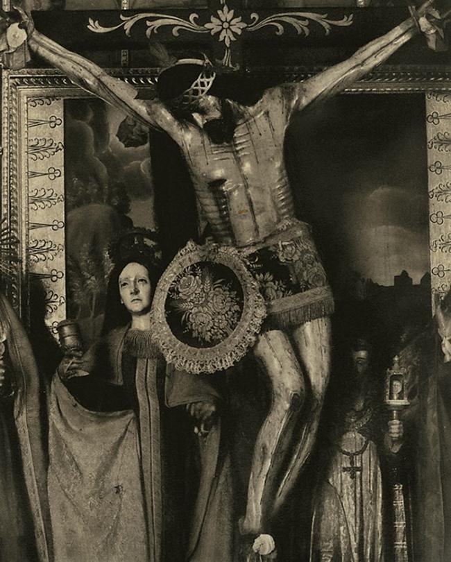 Paul Strand. 'Cristo - Oaxaca' 1933