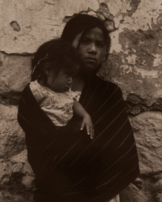 Paul Strand. 'Girl and Child - Toluca' 1933
