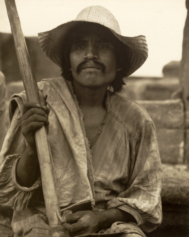 Paul Strand. 'Man with Hoe - Los Remedios' 1933