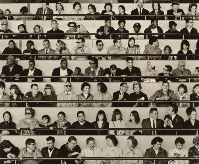 Bob Adelman (1930-2016) 'People Wall, World's Fair, New York' 1965