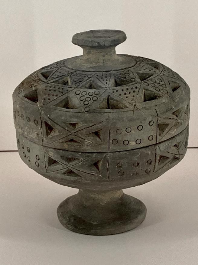 Censer 灰陶熏炉 Qin dynasty, 221 - 207 BCE