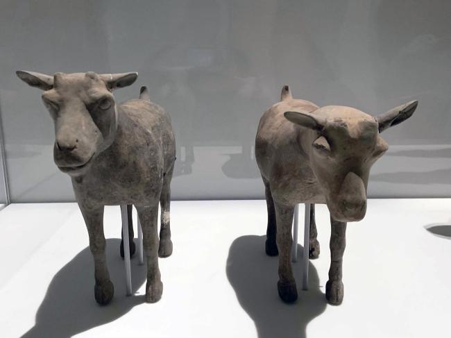 Goat 陶山羊 Western Han dynasty, 207 BCE - 9 CE
