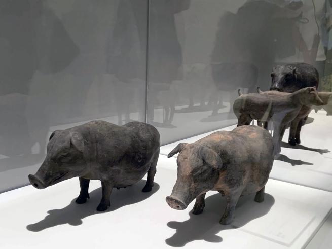 Sow 陶母猪 Western Han dynasty, 207 BCE - 9 CE
