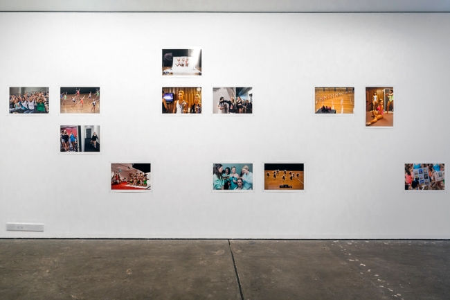 Installation view of the exhibition 'Why Make Pictures?' at the Centre for Contemporary Photography, Melbourne