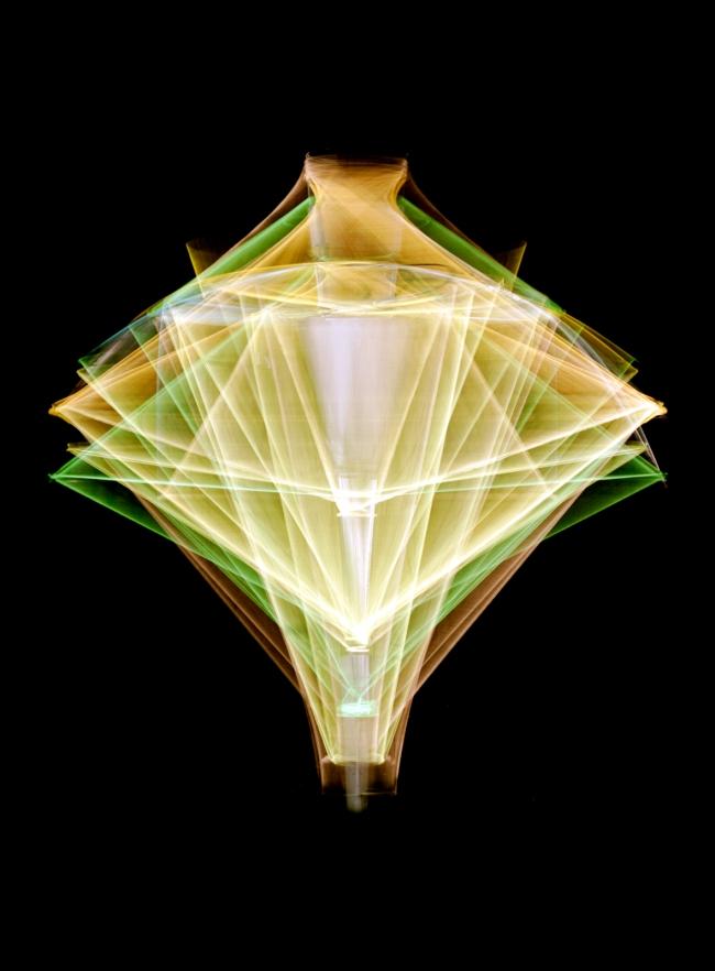 Taiyo Onorato & Nico Krebs. 'Spin 07 (green brown)' 2012