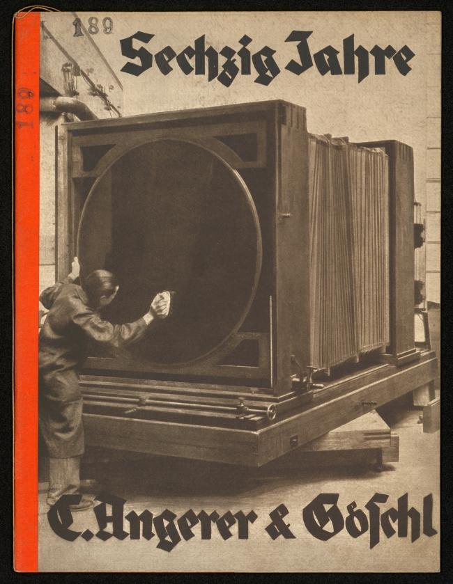 Umschlag von C. Angerer & Göschl Wien. 'Sechzig Jahre' 1932