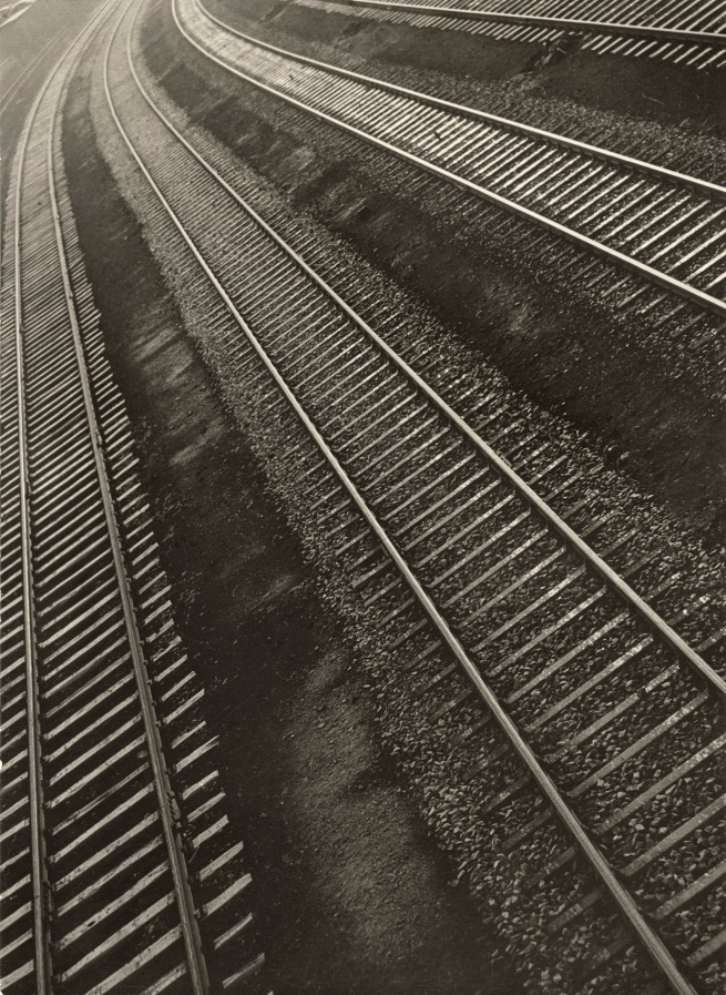 Aenne Biermann (1898-1933) 'Rail Tracks' 1932