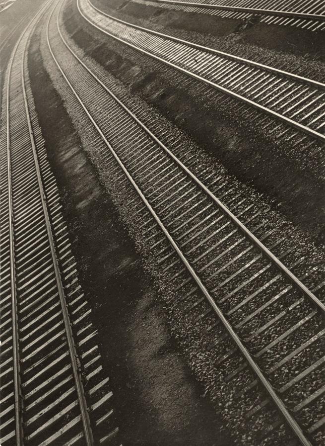 Aenne Biermann (1898-1933) 'Rail Tracks' 1932