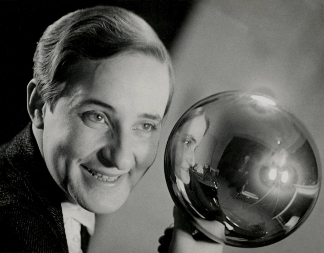 Aenne Biermann (1898-1933) 'Self-Portrait with Silver Ball' 1931