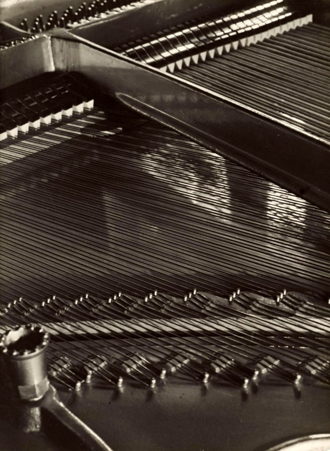 Aenne Biermann (German, 1898-1933) 'View into a piano' c. 1928
