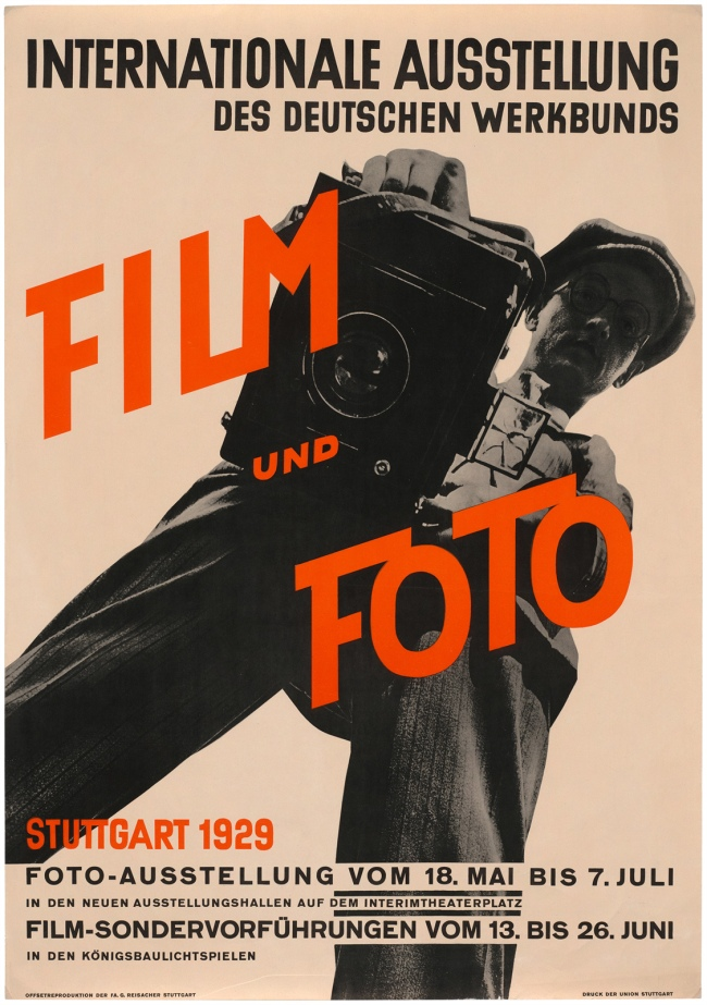 Poster for 'Film und Foto' 1929