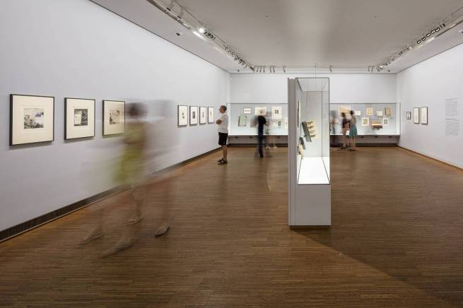 Installation views of the exhibition 'Photo. Book. Art' at the Albertina, Vienna