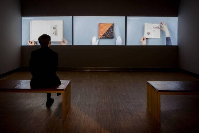 Installation views of the exhibition 'Photo. Book. Art' at the Albertina, Vienna
