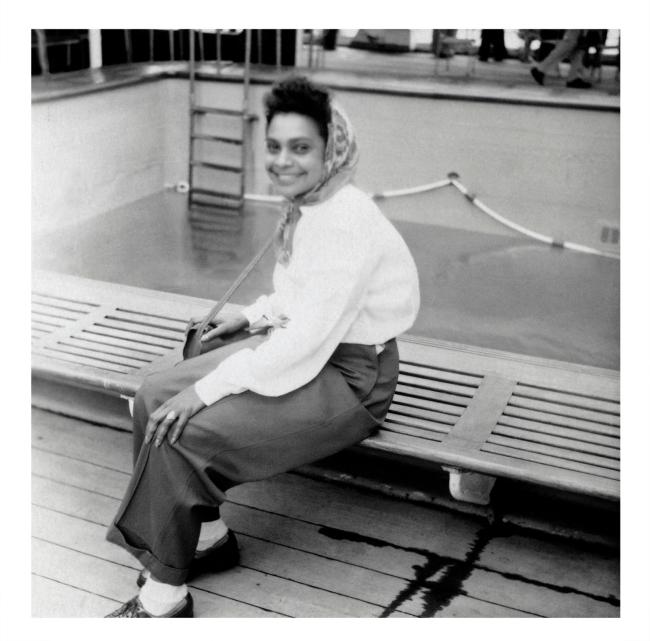Joyce Evans(Australian, 1929-2019) 'Faith Bandler' 1951