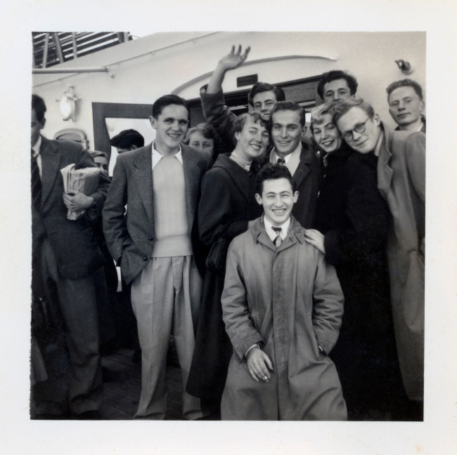 Joyce Evans(Australian, 1929-2019) 'Farewell to Delegates Townsend' 1951