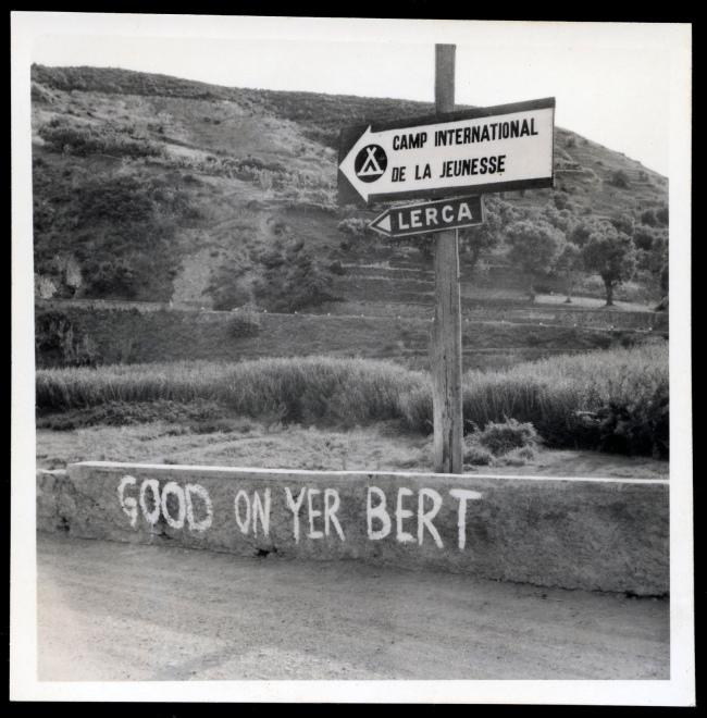 Joyce Evans(Australian, 1929-2019) 'Good on yer Bert' 1949