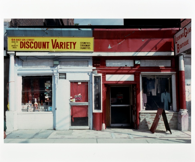 Camilo José Vergara (American, born Chile, 1944) '65 East 125th Street, Harlem' October 1981
