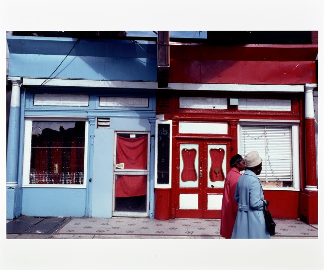 Camilo José Vergara (American, born Chile, 1944) '65 East 125th Street, Harlem' October 1980