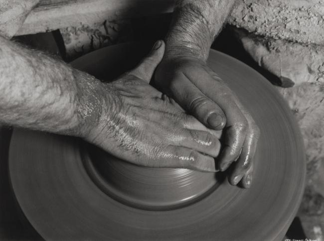 Albert Renger-Patzsch (German, 1897-1966) 'Potter's hands' 1925-1927