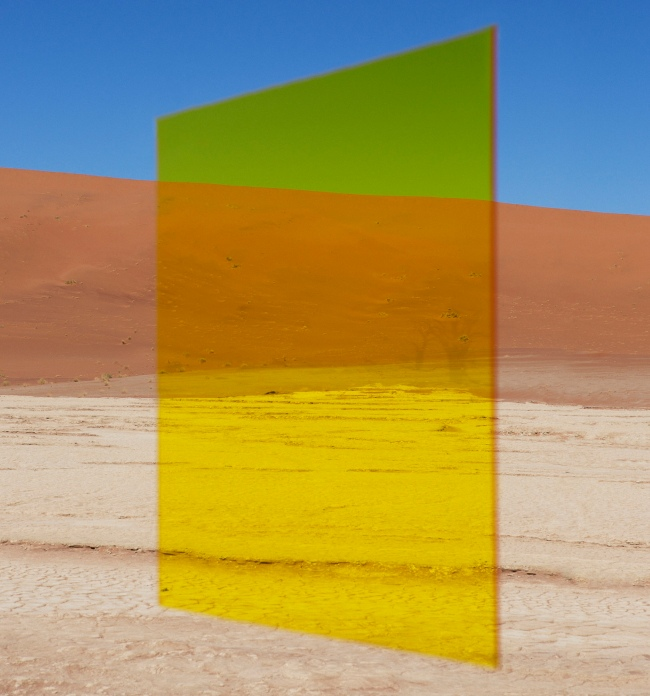 Viviane Sassen (Dutch, born 1972) 'Yellow Vlei' 2014