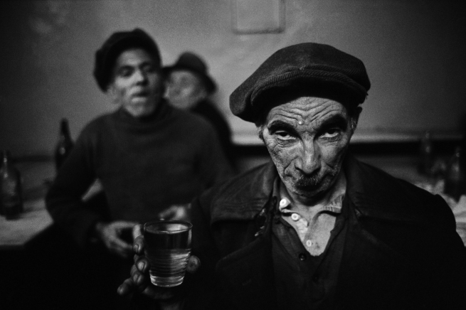 Ara Güler (Turkish, 1928-2018) 'A drunk man at a bar in Tophane' 1959