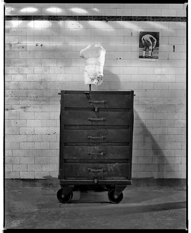 Marcus Bunyan (Australian, b. 1958) 'Two torsos' 1991