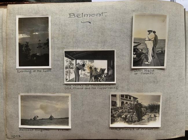 """Belmont,"" 1923 in John ""Jack"" Riverstone Faviell 1922-1933 photo album"