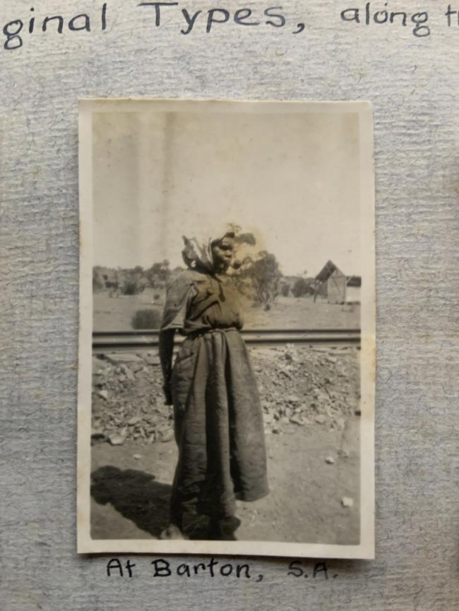 """At Barton, S.A.,"" 1923 in John ""Jack"" Riverstone Faviell 1922-1933 photo album"