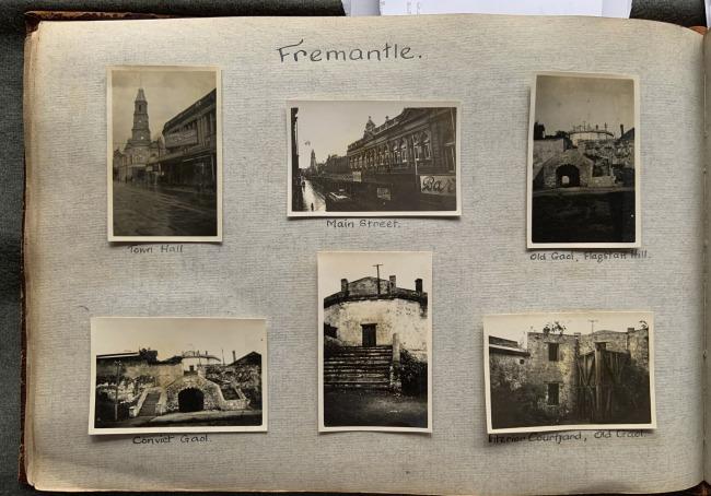 """Fremantle,"" 1923 in John ""Jack"" Riverstone Faviell 1922-1933 photo album"