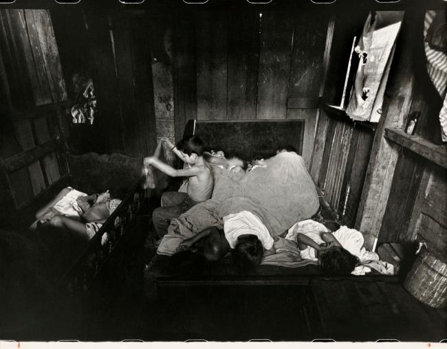 Gordon Parks (American, 1912-2006) 'Family's Day Begins, Rio de Janeiro, Brazil' Negative 1961, printed later