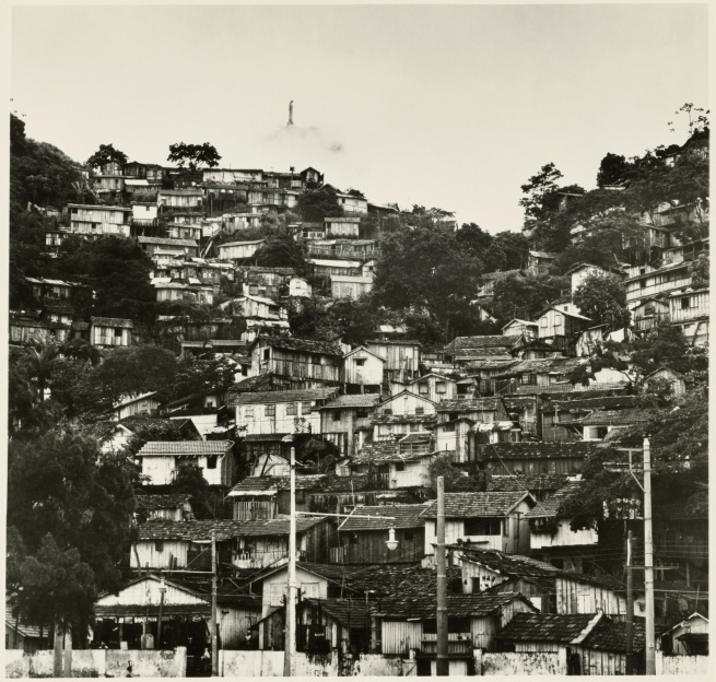 Gordon Parks (American, 1912-2006) 'Catacumba Favela, Rio de Janeiro, Brazil' Negative 1961, printed later