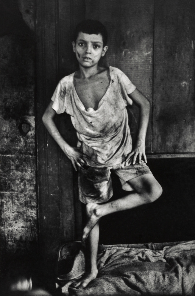 Gordon Parks (American, 1912-2006) 'Flávio da Silva, Rio de Janeiro, Brazil' 1961