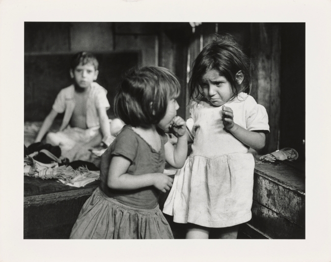 Gordon Parks (American, 1912-2006) 'Abia and Isabel da Silva, Rio de Janeiro, Brazil' Negative 1961, printed later
