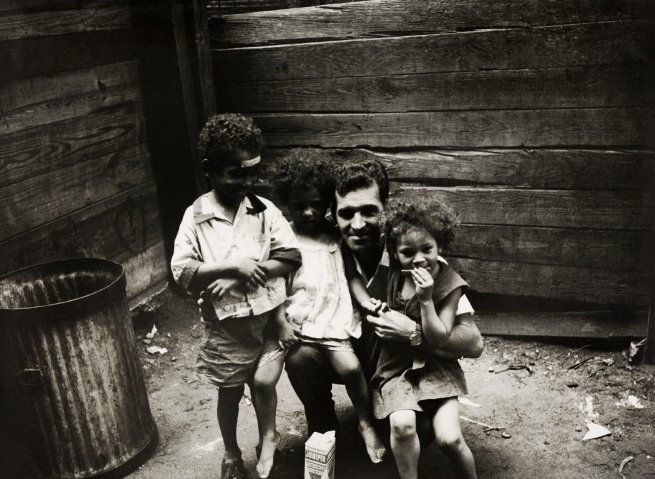 Henri Ballot (French / Brazilian, 1921-1997) 'Photographer Henri Ballot with Ely-Samuel (on the Left) and His Brothers, Manhattan, New York' 1961