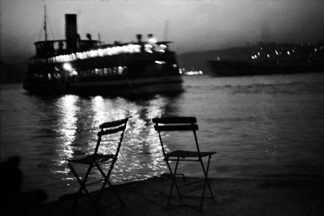 Ara Güler (Turkish, 1928-2018) 'Kandilli [A Bosphorus passenger boat leaving the European shores of Istanbul for the Asian shore]' 1965