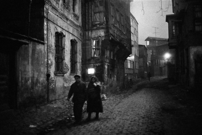 Ara Güler (Turkish, 1928-2018) 'Nightfall in the district of Zeyrek, Istanbul' 1960