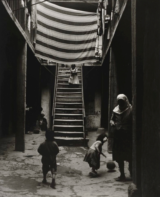 Ara Güler (Turkish, 1928-2018) 'Tophane [Atrium of a house]' 1954