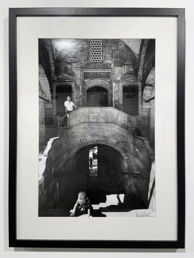 Ara Güler (Turkish, 1928-2018) 'Sokollu Mehmet Paşa Camii, Kadirga [Sokollu Mehmet Pasha Mosque, Kadirga]' (installation view) 1988