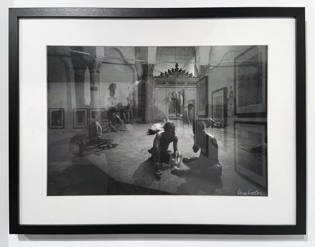 Ara Güler (Turkish, 1928-2018) 'Cagaloglu Hamami' (installation view) 1965