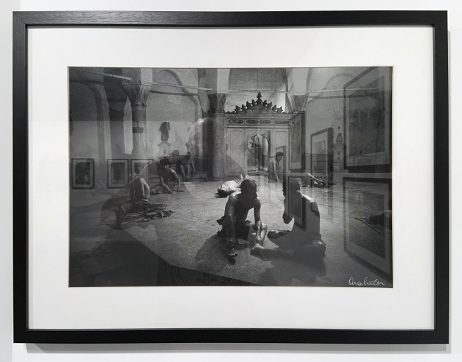 Ara Güler (Turkish, 1928-2018) 'Cagaloglu Hamami' (installation view) 1965