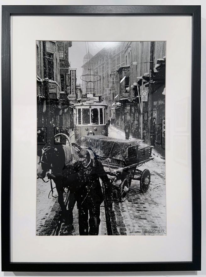 Ara Güler (Turkish, 1928-2018) 'Sirkeci' (installation view) 1956