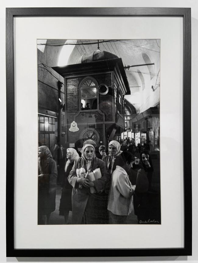 Ara Güler (Turkish, 1928-2018) 'Kapaliçarsi [The Grand Bazaar]'(installation view) 1972