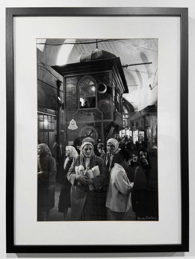 Ara Güler (Turkish, 1928-2018) 'Kapaliçarsi [The Grand Bazaar]' (installation view) 1972