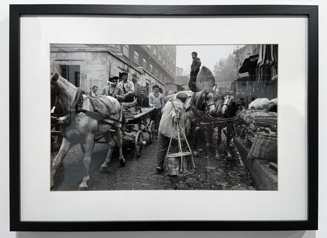 Ara Güler (Turkish, 1928-2018) 'Tahtakale' (installation view) 1966