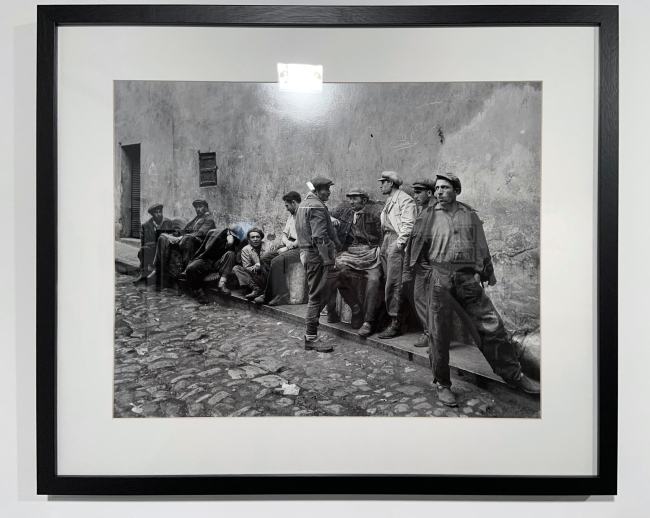 Ara Güler (Turkish, 1928-2018) 'Eminönü' (installation view) 1954