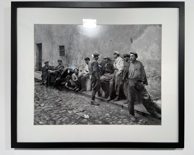 Ara Güler (Turkish, 1928-2018) 'Eminönü' (installation view) 1954