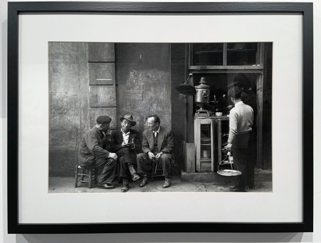 Ara Güler (Turkish, 1928-2018) 'Hazzopulo Pasajl, Beyoglu [Hazzopulo Passage, Beyoglu]' (installation view) 1958