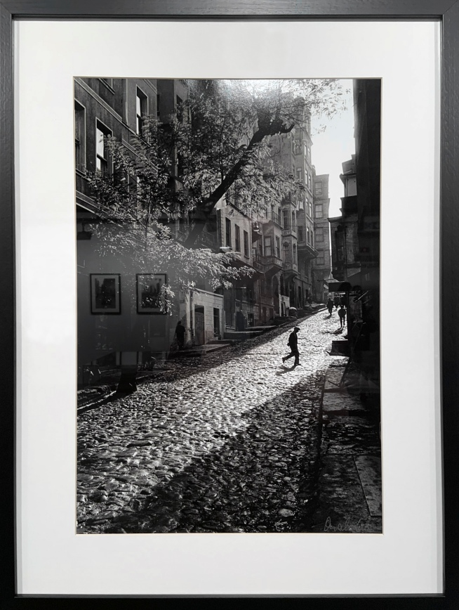 Ara Güler (Turkish, 1928-2018) 'Tarlabaşi' 1965 (installation view)